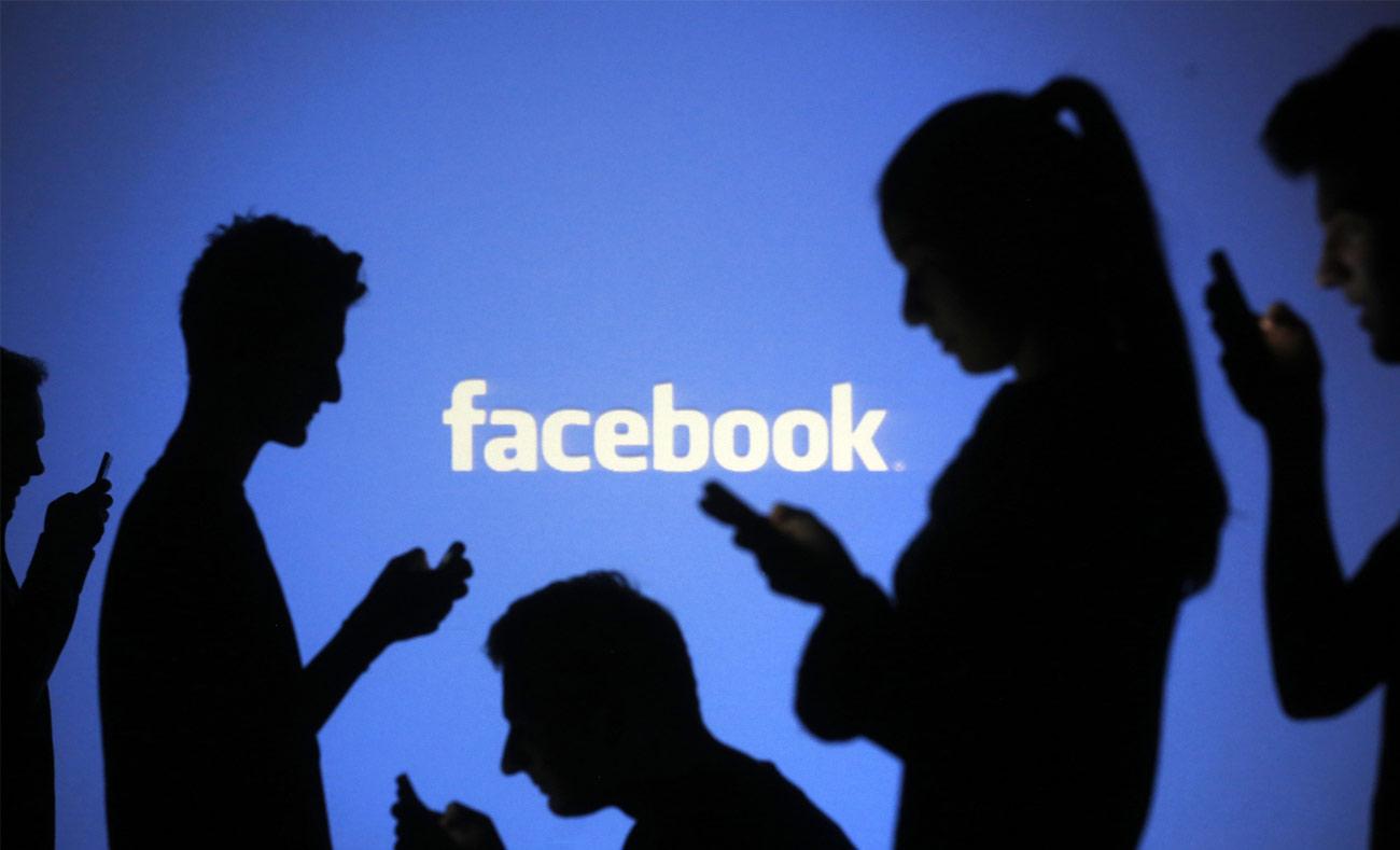 """شعار شركة """"فيس بوك"""" (انترنت)"""