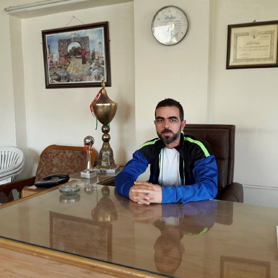 اللاعب محمد راغب الأشقر