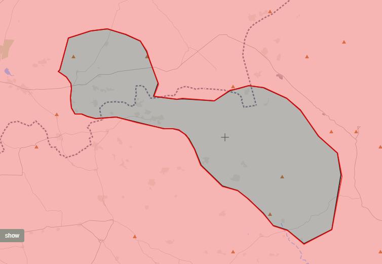 خريطة توضح نفوذ قوات الأسد وتنظيم الدولة في ريفي حمص وحماة - 4 تشرين الأول 2017 (LIVEMAP)