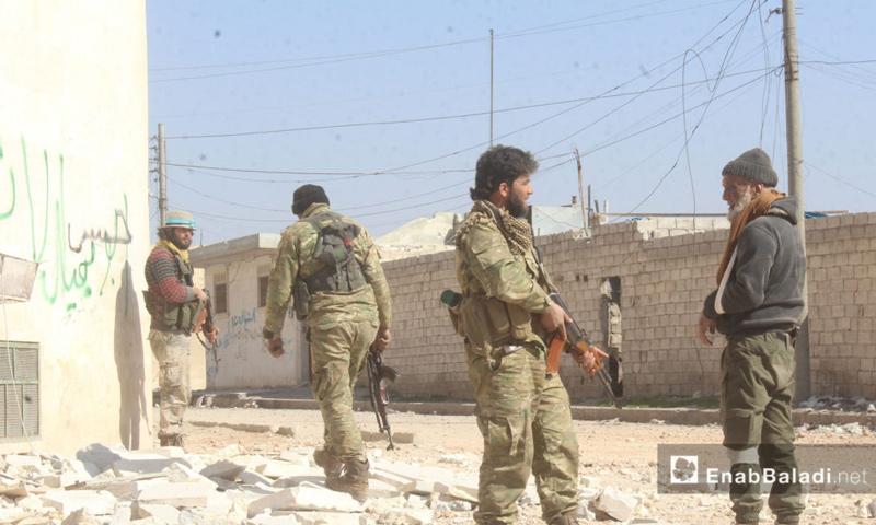 الجيش الحر في مدينة الباب بعد تحريرها - 23 شباط 2017 (عنب بلدي)
