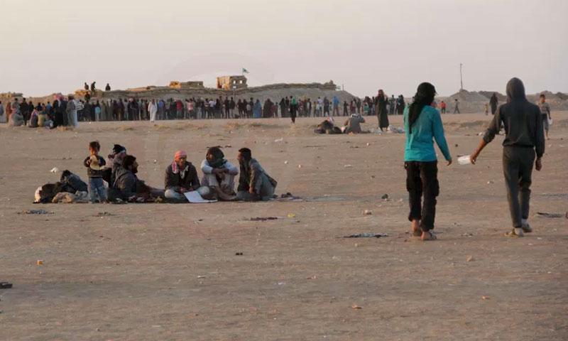 نازحون من محافظة دير الزور إلى مناطق سيطرة قوات سوريا الديمقراطية (دير الزور 24)