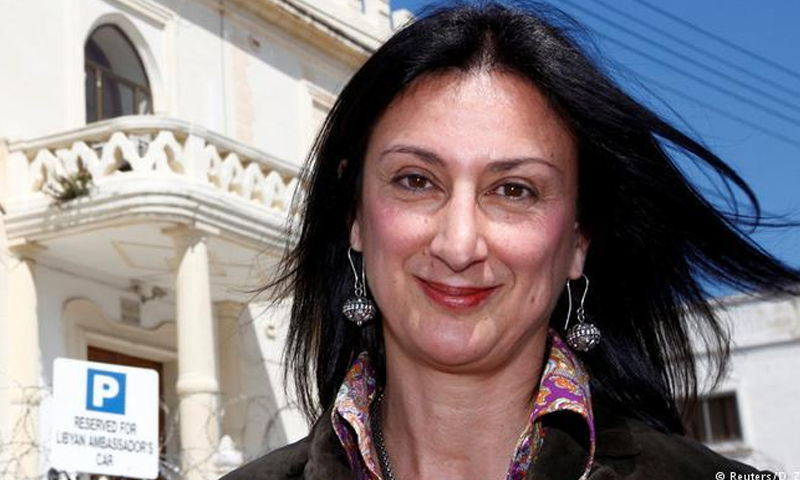 الصحفية الاستقصائية دافني كاروانا غاليزيا - (رويترز)