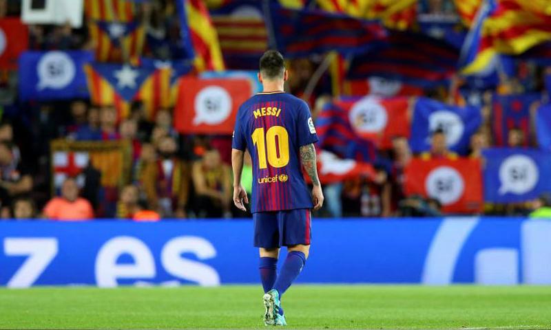 نجم نادي برشلونة الإسباني ليونيل ميسي (ماركا)