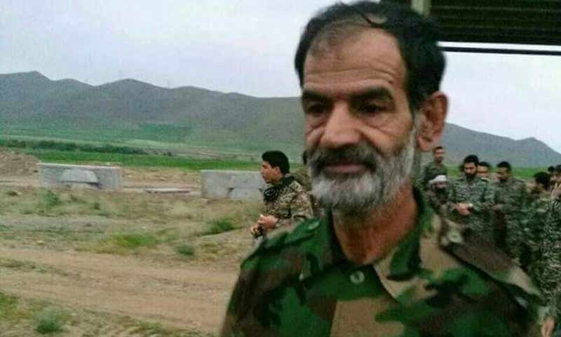 """اللواء في """"الحرس الثوري"""" الإيراني، عبد الله خسروي (تويتر)"""