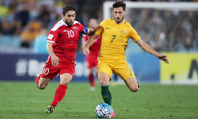 مباراة المنتخب السوري والأسترالي في سيدني - 10 تشرين الأول 2017 (FIFAworldcup)