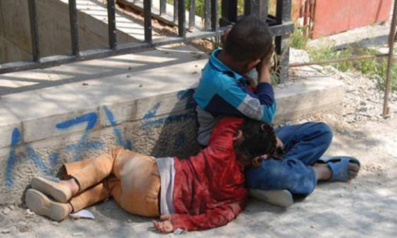 أطفال في دمشق (انترنت)