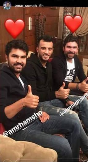 السومة مع أبناء محمد حمشو (فيس بوك)
