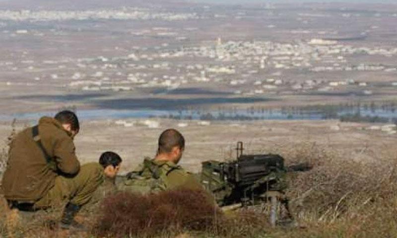تعبيرية: جنود إسرائيليون في هضبة الجولان المحتل (إنترنت)