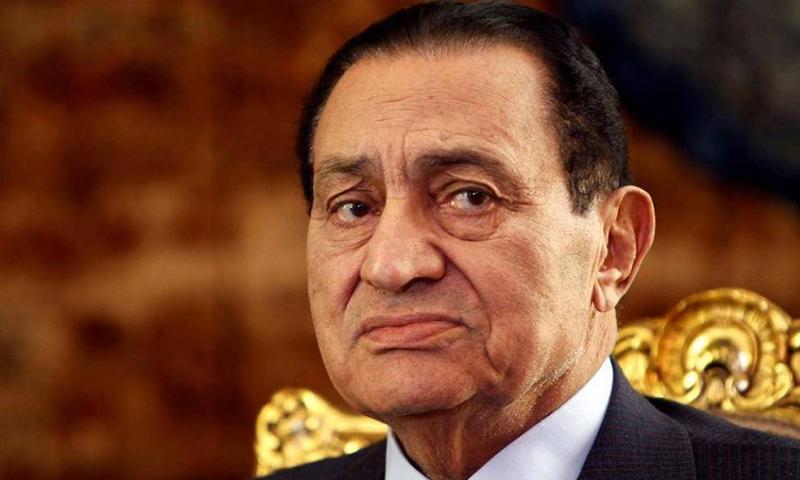 الرئيس المصري السابق حسني مبارك (انترنت)
