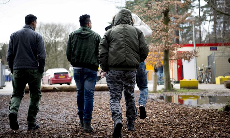 لاجئون سوريون في هولندا (ANP)