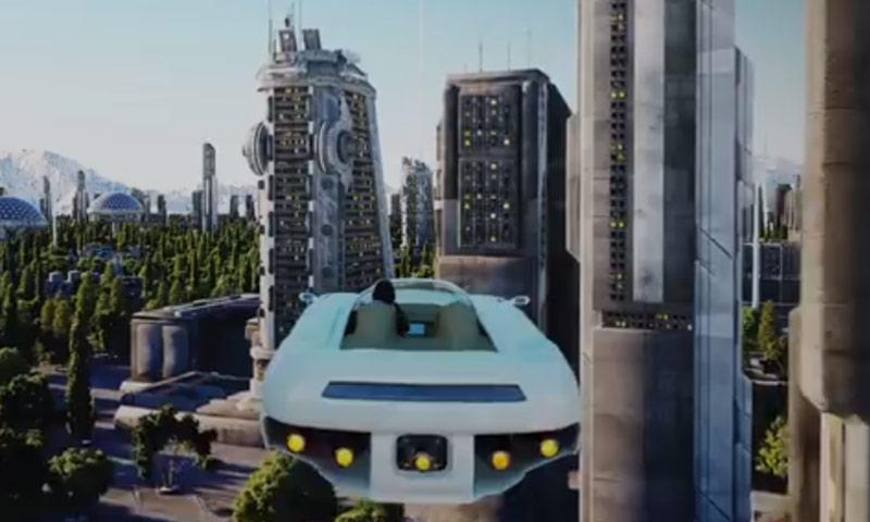 تصور للهيئة التي ستبدو عليها مدينة بيلمونت (world economic forum)
