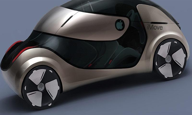 سيارة آبل ذاتية القيادة (انترنت)