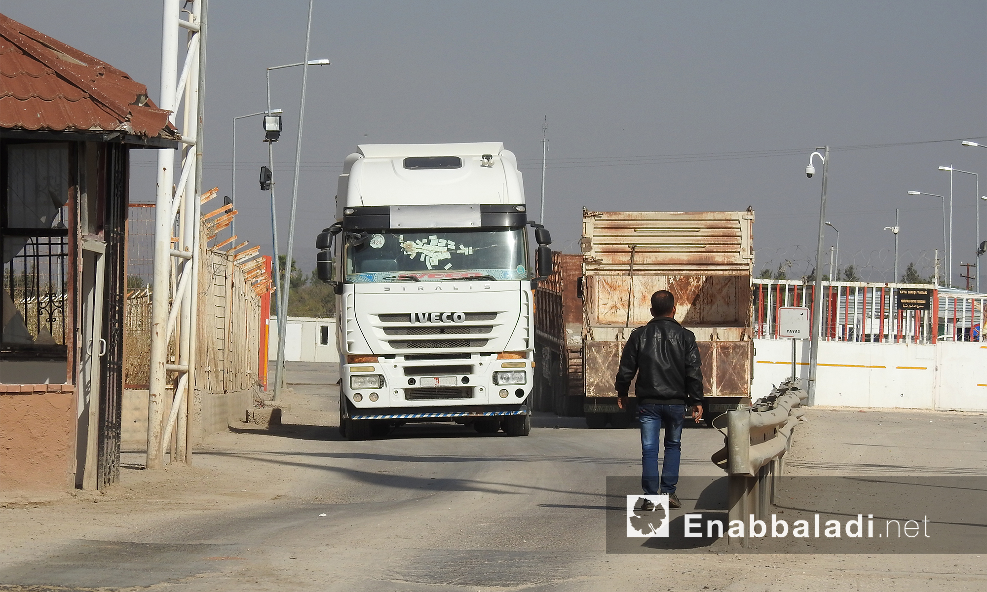 معبر باب السلامة الحدودي مع تركيا - 15 تشرين الثاني 2017 (عنب بلدي)