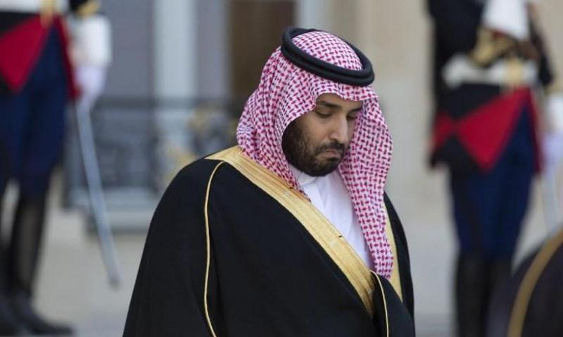 ولي العهد السعودي محمد بن سلمان (AFP)