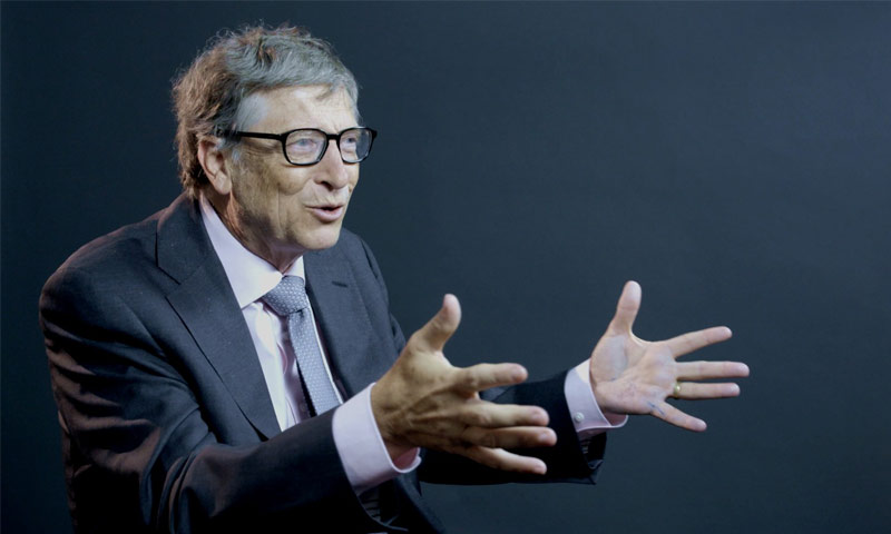 مؤسس شركة مايكروسوفت، بيل جيتس (انترنت)