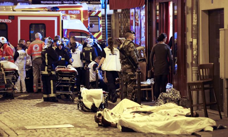 هجمات باريس - 13 تشرين الثاني 2015 (Getty)