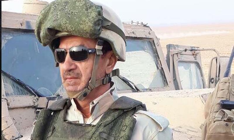 اللواء الركن محمد خضور قائد معركة دير الزور - (انترنت)