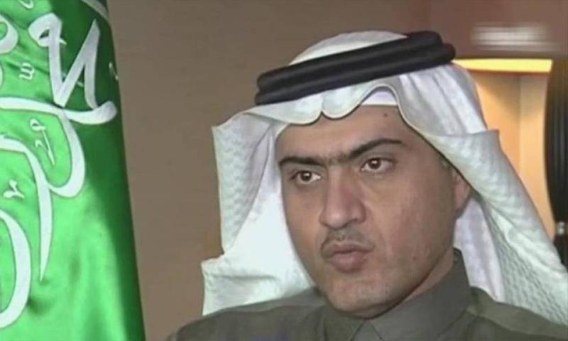 وزير الدولة لشؤون الخليج العربي، في وزارة الخارجية السعودية، ثامر السبهان (يوتيوب)