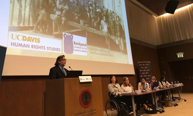 """مؤتمر """"الجامعات تتجاوب مع أزمة اللاجئين"""" في بيروت - 6و7 تشرين الثاني 2017 (تويتر)"""