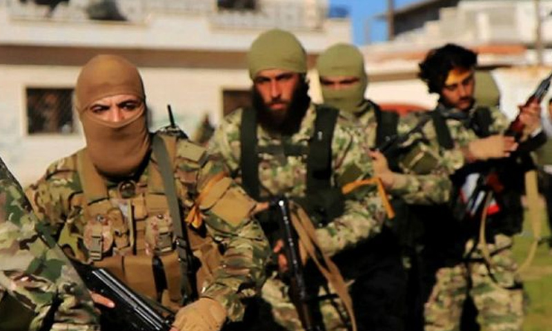 مقاتلين من هيئة تحرير الشام - (انترنت)