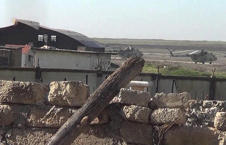 تعبيرية: مطار دير الزور العسكري (تويتر)