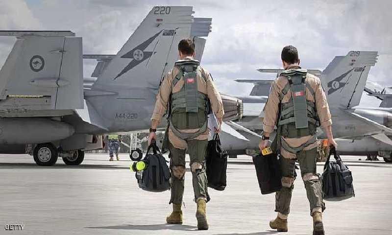 طيارين أستراليين (انترنيت)