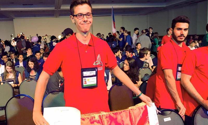 حافظ بشار الأسد في أولمبياد الرياضيات في ريو دي جانيرو البرازيلية (دير شبيغل)