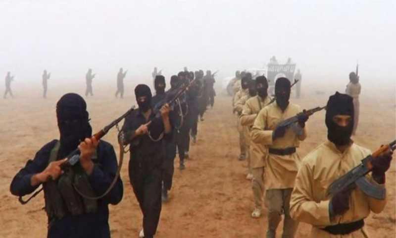 """عناصر من """"تنظيم الدولة"""" bbc"""