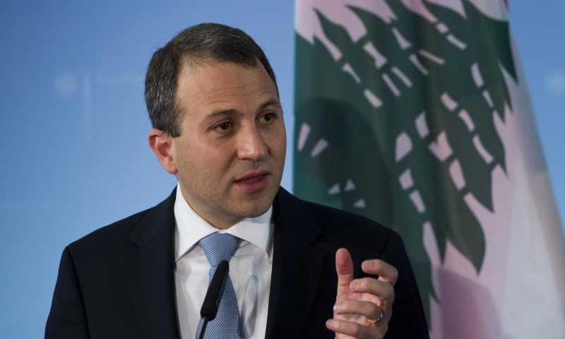 وزير الخارجية اللبناني جبران باسيل (أخبار لبنان)