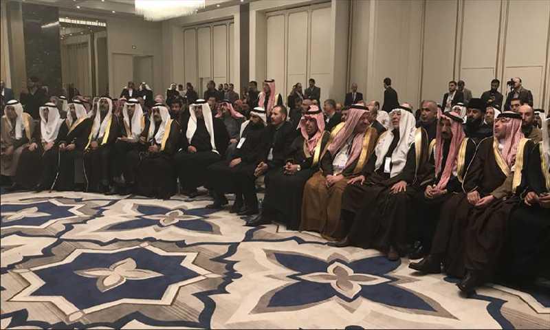 مؤتمر العشائر السوري الأول (الأناضول)