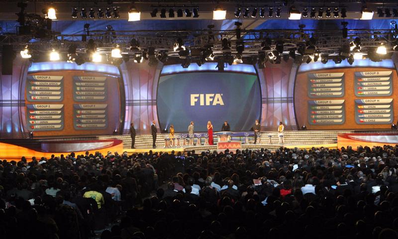 من قرعة كأس العالم في روسيا- 1 كانون الاول 2017 (فيفا)
