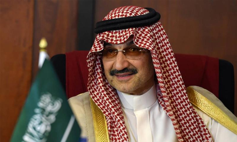 رجل الأعمال السعودي الوليد بن طلال - (انترنت)
