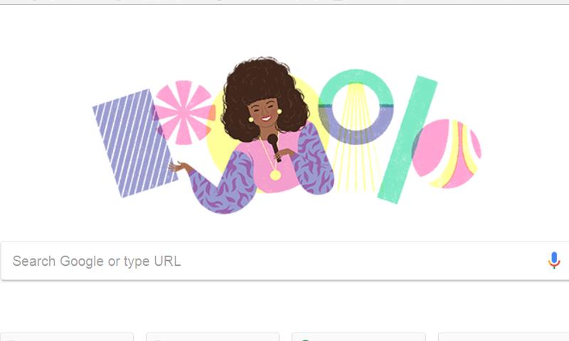 """""""جوجل"""" يحتفي بالمطربة السعودية عتاب (جوجل)"""