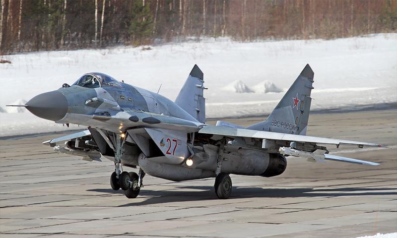 """مقاتلة روسية من طراز """"ميغ-29SMT"""" - 2017 (وسائل إعلام روسية)"""