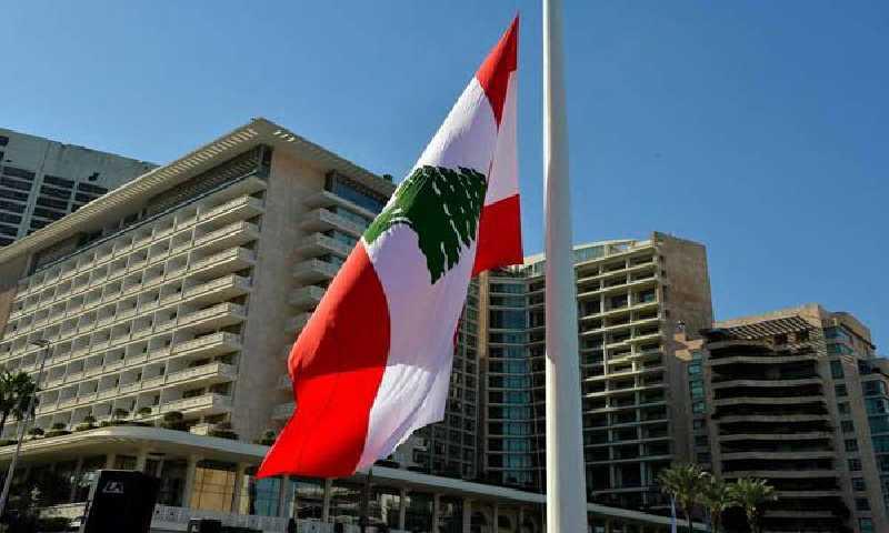 علم لبنان(انترنيت)