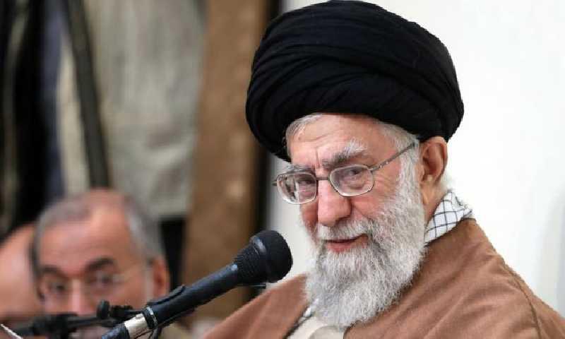 المرشد الأعلى الإيراني، آية الله خامنئي،(أ ف ب)