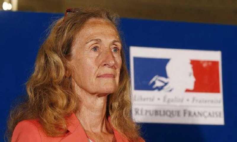 وزيرة العدل الفرنسيةنيكول بيلوبي(فرانس برس)