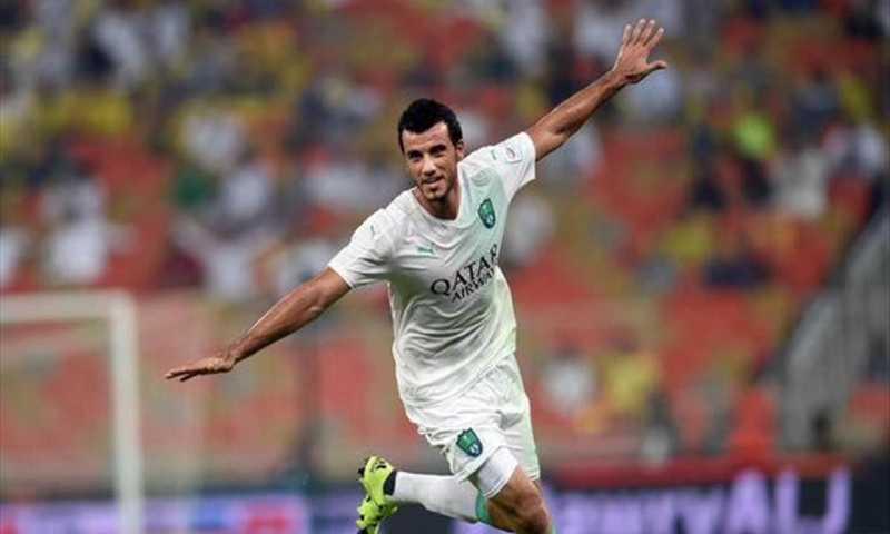 عمر السومة مع نادي الأهلي السعودي (يورو سبورت)