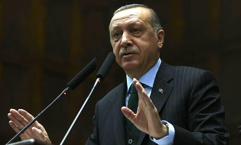 الرئيس التركي رجب طيب أردوغان - 9 كانون الثاني 2018 (وكالة الأناضول)