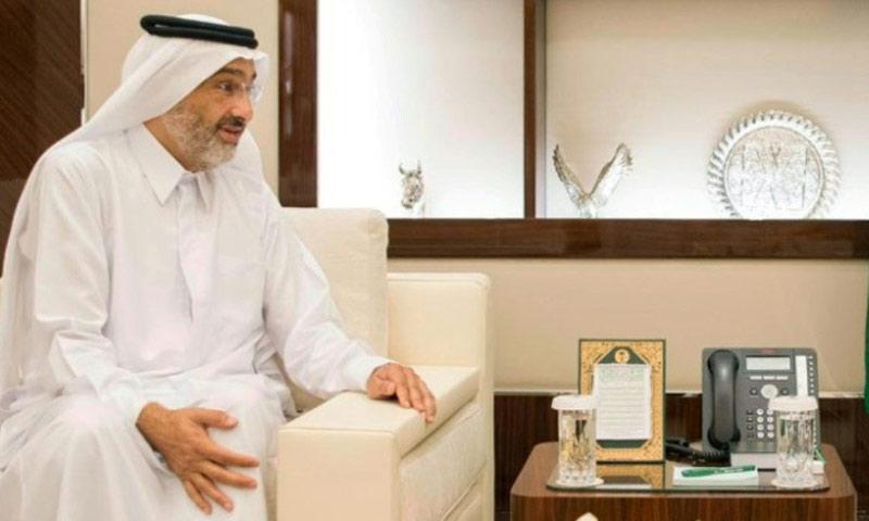 الشيخ عبد الله بن علي آل ثاني (AFP)