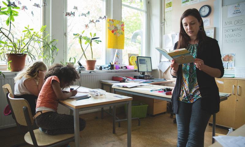 السويد أفضل بلد في العالم لرعاية الطفولة (انترنت)