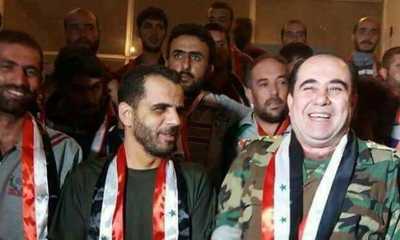 العميد وفيق ناصر قائد المنطقة الجنوبية في سوريا سابقًا (فيس بوك)