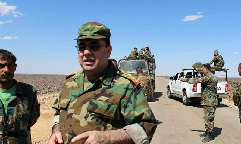 العميد وفيق ناصر قائد الأمن العسكري في السويداء سابقًا - (فيس بوك)