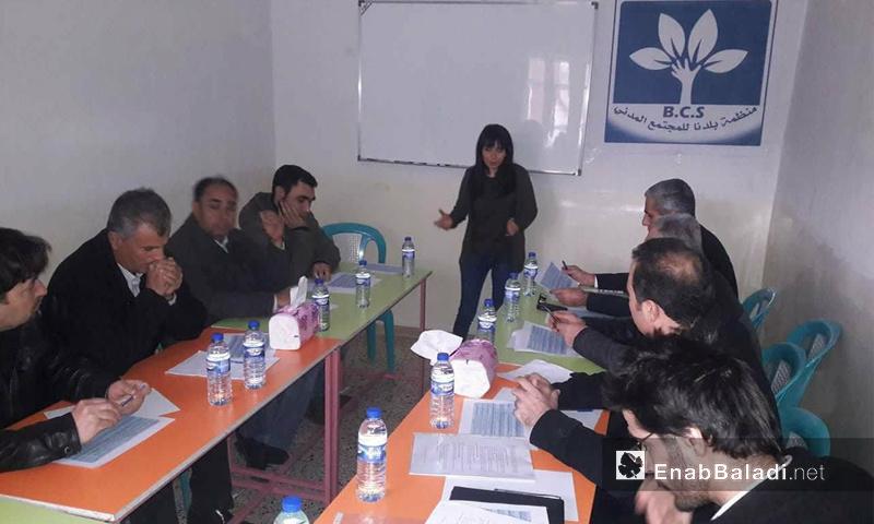 ورشة صياغة المعايير الانتخابية في الحسكة - 30 كانون الأول 2017 (عنب بلدي)