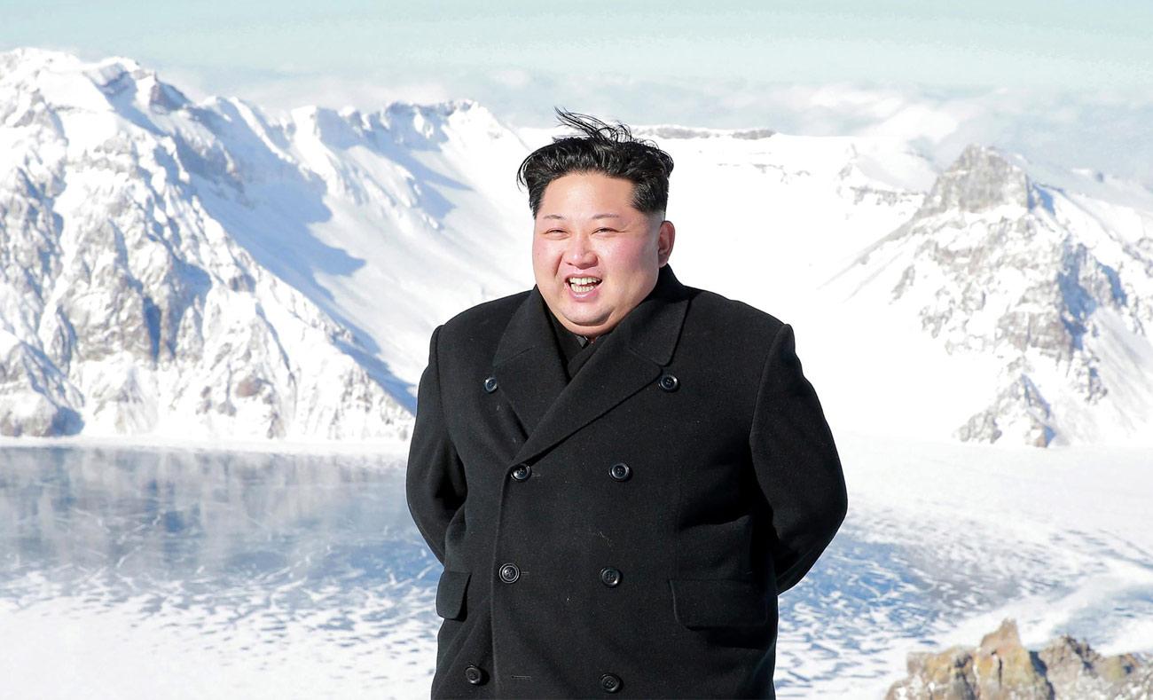 """رئيس كوريا الشمالية """"كيم جونغ أون"""" (AFP)"""