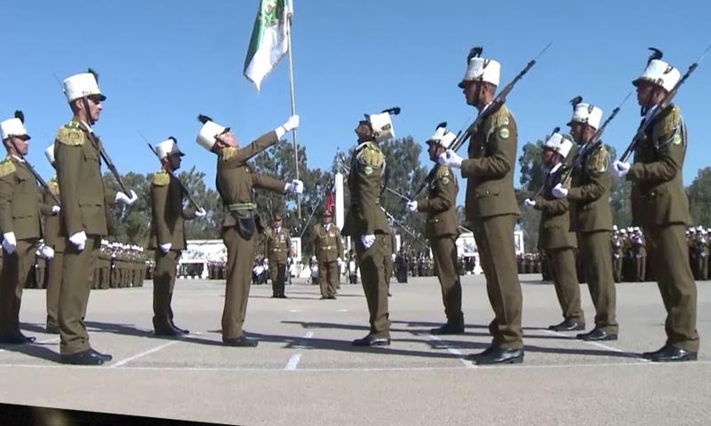 تخريج دفعة ضباط من الكلية الحربية في جيش الأسد- تشرين الثاني 2018 (سانا)
