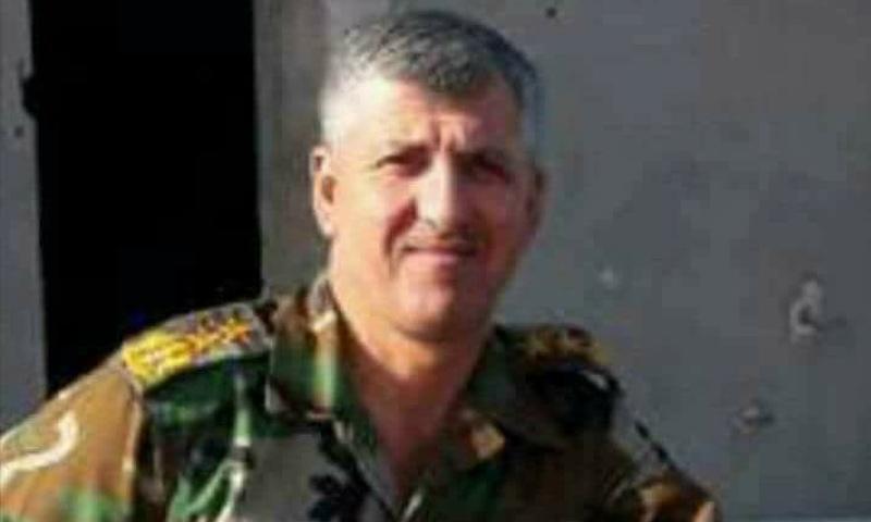 العقيد وسام جحجاح قائد قطاع معان شمالي حماة - (فيس بوك)