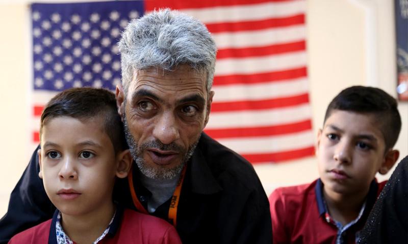 لاجئون سوريون في الولايات المتحدة (انترنت)