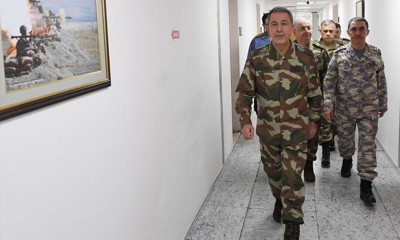 قائد الاستخبارات التركية خلوصي آكار - 21 كانون الثاني (trt)