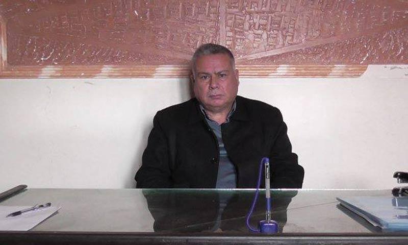 """نائب رئيس لجنة الإعمار في """"مجلس الرقة المدني""""، إبراهيم الحسن (وسائل إعلام كردية)"""